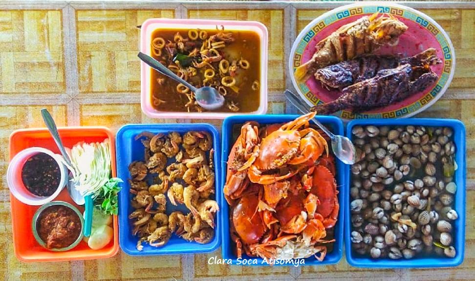 Serunya Berburu Seafood Di Pantai Depok