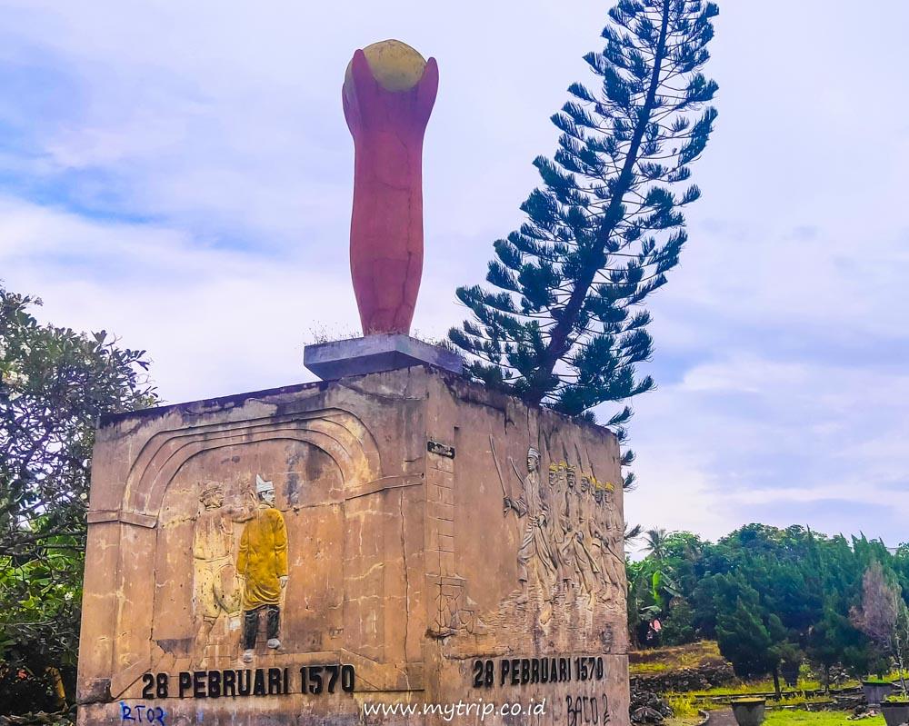 5 Fakta Sejarah Benteng Kastela Di Ternate Yang Menarik